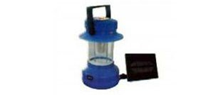 Solar lantern or camping light for outdoor use or as emergency light by Kamtex Solar