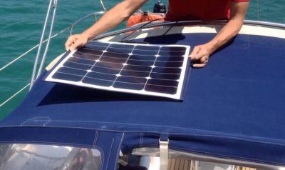 backcontact flexible solarpanel boat2