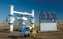 Solar for oil and gas industry