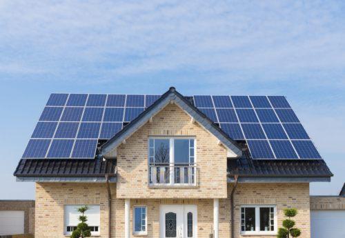 standard solarpanel kmx grid tie home