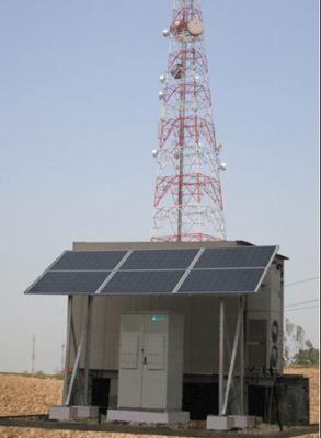 standard solarpanel kmx telecom tower