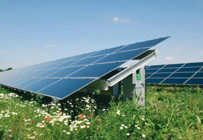 thin film solar farm