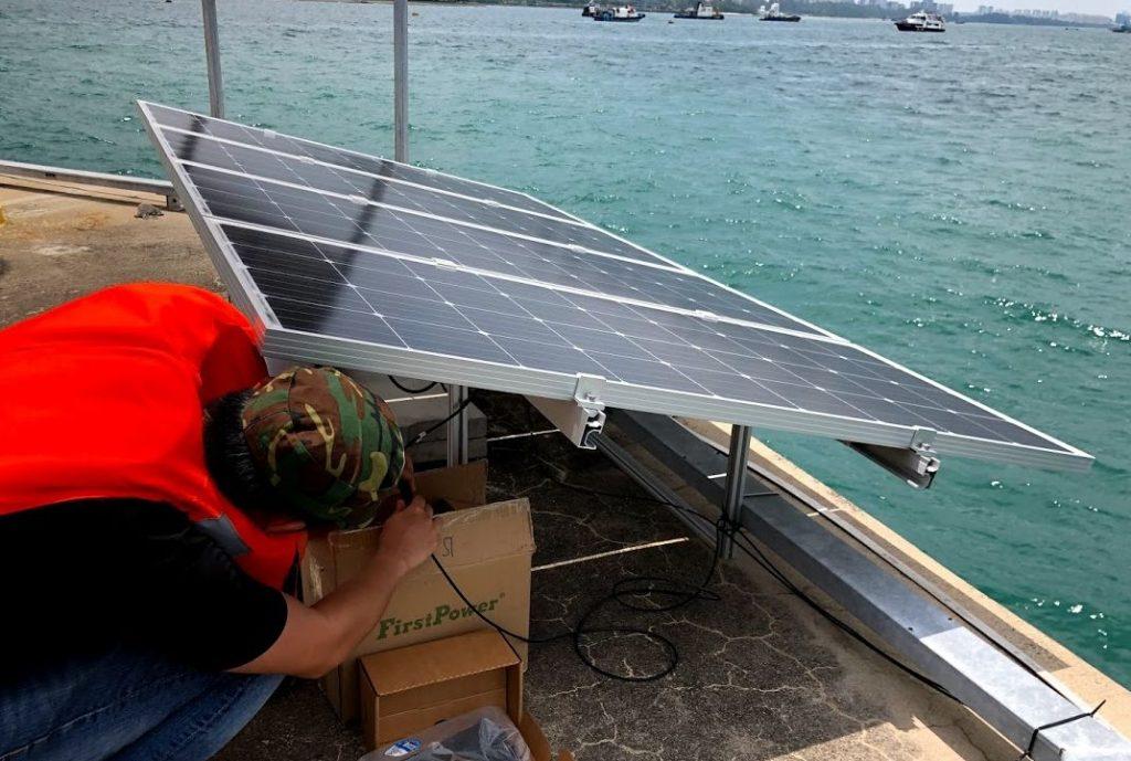 solar system installation by Kamtexsolar singapore