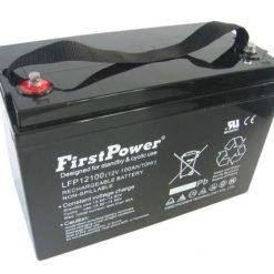 Firstpower 12V 100ah AGM solar battery